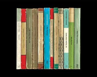 Leonard Cohen 'Best Of' Greatest Hits Album As Penguin Books Poster Print Literary Print