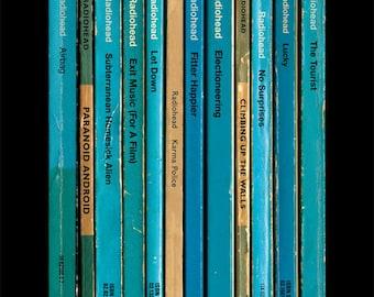 Radiohead 'OK Computer' Album As Books Poster Print