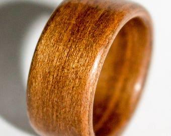 Koa bentwood ring