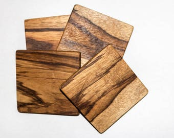 Wood Coasters for wedding, home decor