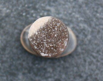 13mm Agate Druzy Labret
