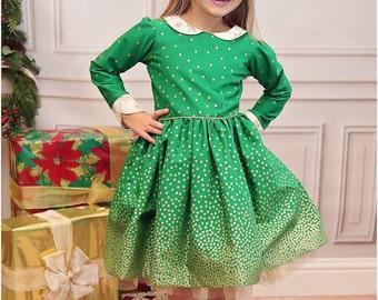 Jubilee Party Dress Sewing Pattern: Girls Dress Sewing Pattern, Baby Dress Sewing Pattern