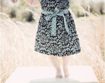 Lucy Dress Sewing Pattern for Girls / Girls Dress PDF Sewing Pattern / Easter Dress Pattern / Flower Dress Sewing Pattern / Baby Dress PDF