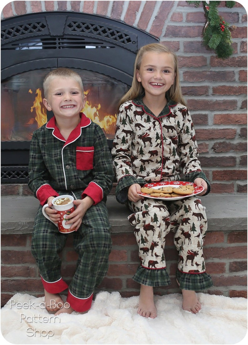 bc86126472 Sweet Dreams Button-Up PJ Set  Childrens Pajamas Pattern Kids
