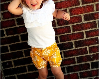 Bubble Shorts: Girls Shorts Pattern, Baby Shorts Pattern, Toddler Shorts Pattern, Instant Donwload PDF Pattern