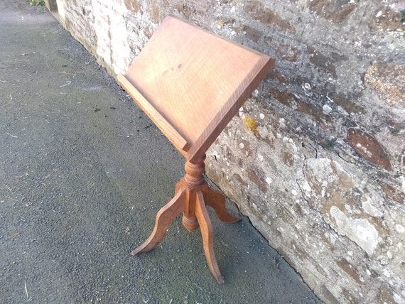 Pleasant Vintage French Large Wood Church Bible Book Alter Menu Program Art Work Stand Rest Speaker Narrator Display Circa 1920S English Shop Camellatalisay Diy Chair Ideas Camellatalisaycom
