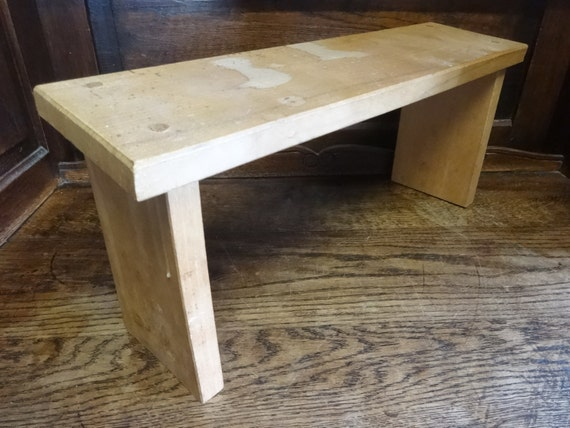 Superb Vintage French Church Kneeling Footstool Foot Stool Rest Praying Wooden Bench Seat Stool Sold Individually Circa 1960 70S English Shop Camellatalisay Diy Chair Ideas Camellatalisaycom