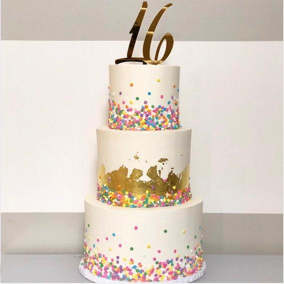 Incredible Items Similar To Sweet Sixteen Cake Topper Birthday Cake Topper Funny Birthday Cards Online Kookostrdamsfinfo