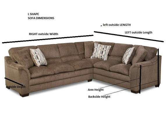 Sectional couch cover - L shaped sofa throw covers -ruffled corner sofa  coverlet -pet furniture protectors - sectional sofas Nurdanceyiz