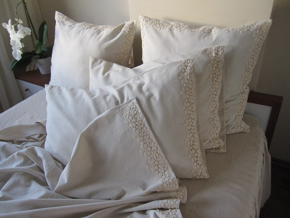 Lace Euro Pillow Cover 26x26 (Cover