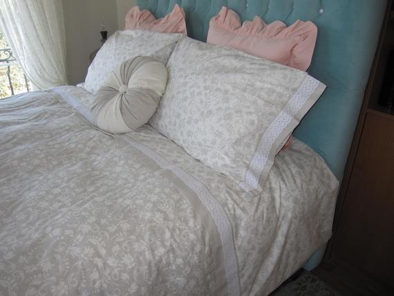 Ordinaire Oversized King Bedding Super King Size Duvet Cover 120x98 | Etsy