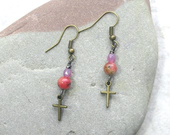 † Cross Earrings †