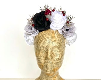 Day of the Dead Flower Headpiece