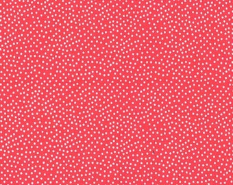 Cotton Fabric Patchwork Sewing Dress Making Candy Pink Micro Pin Dot