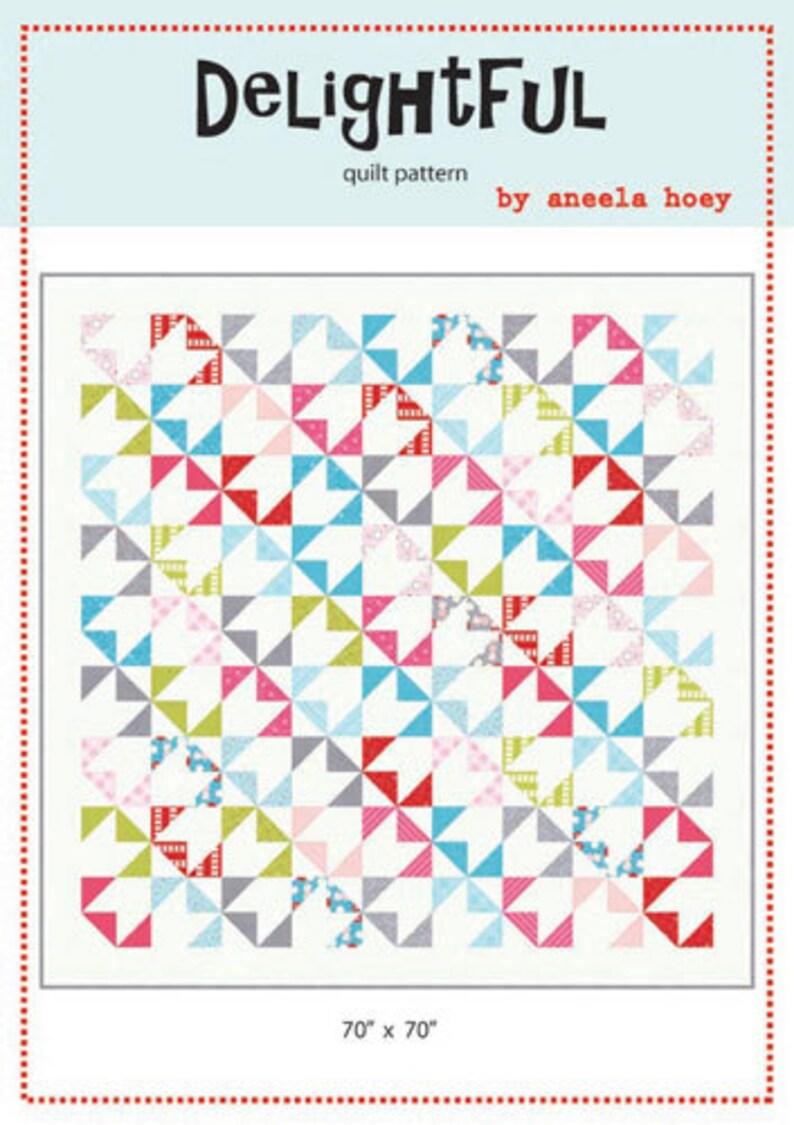 SALE Delightful Pattern designed by Aneela Hoey image 0