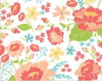 Lulu Lane White Garden Floral 29020 11 by Corey Yoder of Little Miss Shabby for Moda