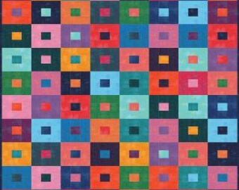 Stepping Stones Grunge Jelly Roll Quilt Kit