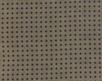 Lexington Tan Double Polka Dot by Minick & Simpson for Moda