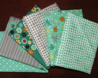6 Fat Quarters from our Nordika Bundle by Jenni Baker for Art Gallery