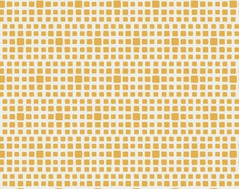 1 Yard Squared Elements in Honeycomb by Pat Bravo for Art Gallery Fabrics