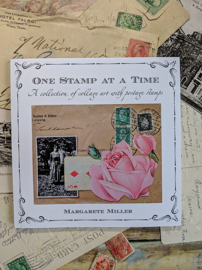 One Stamp at a Time  Art book by Margarete Miller image 0