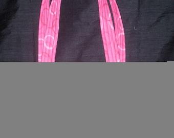Pink and Brown Polka Dot purse