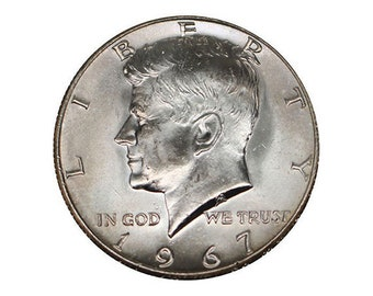 1967 Uncirculated Kennedy Half Dollar
