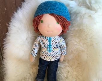 Pete, 12 inch Waldorf Doll