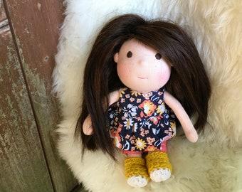 Penny, 9 inch Waldorf Doll
