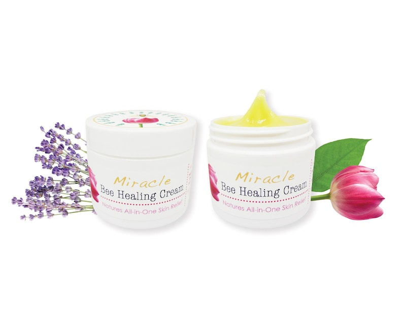 Miracle Bee Healing Cream / Powered with Manuka Honey Bee image 0
