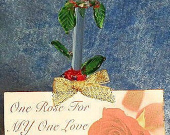 One Rose For My One Love, Valentine's Day gift or for any day, just to say I Love You.