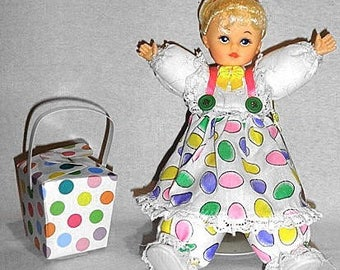 Anita, Caucasian Easter one of a kind collectible doll