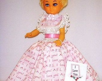Amada, OOAK vinyl Cacausian doll, I love you