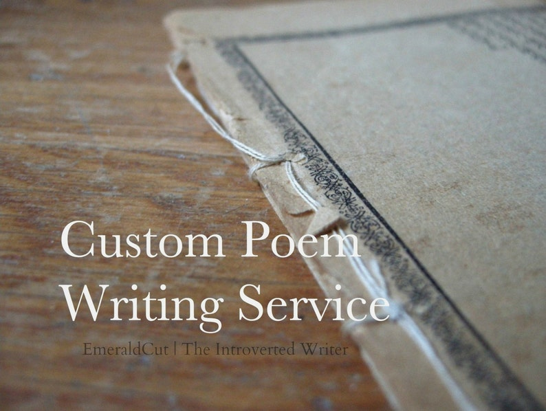 Custom Poem Up to 9 Lines Writing Service /Quality Unique image 0