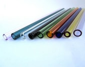 Single Choose Your Own Color Glass Straw