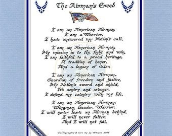 United States Air Force    Airman's Creed