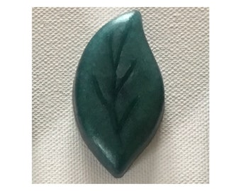 Leaf Guest Soap - Maine Camp Guest Soap - Scotch Pine & Cranberry Scent - Ideal for Camp, Cottages, Guest Houses, Woodland Wedding, Showers
