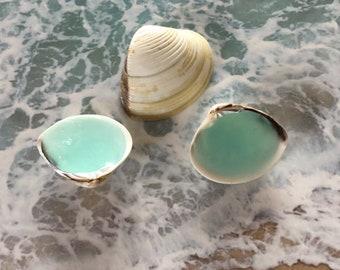 3 Small Mermaid Soap Petals -  Soaps - Beach, Soap,Nautical, Beach Wedding, Beach Theme, Guest Soap, Clam Shell Soap, Custom Orders