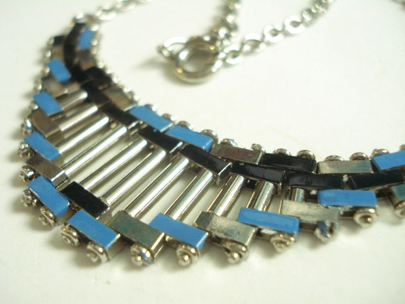 Art Deco Jakob Bengel Necklace Mauerwerk  20's 30'