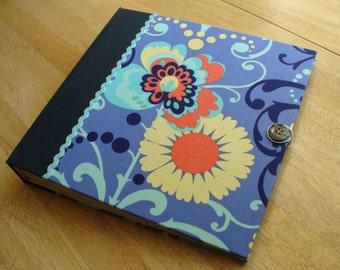 Funky Floral Scrapbook/ Photo Album/ Photobooth Guest Book