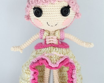 Lalaloopsy Super Silly Party Peanut Big Top Crochet Doll - Walmart ... | 270x340