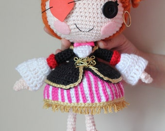 PATTERN: Peggy Crochet Amigurumi Doll