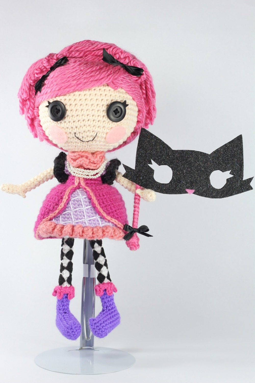 Pattern Confetti Crochet Amigurumi Doll Etsy