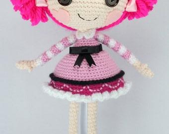 PATTERN: Toffee Crochet Amigurumi Doll