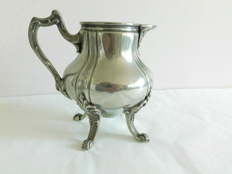 Antike Vase Aus Metall Schön Groß Versilbert Aus Dem 1900 Jh