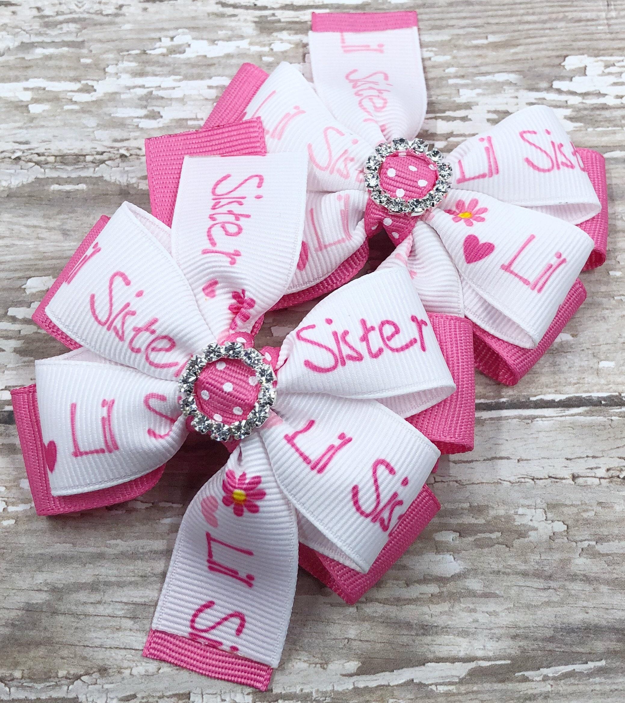 Little Sister Little Sister Gift Little Sister Bow Girls | Etsy