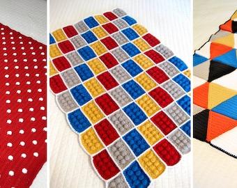 3  Crochet Blanket Patterns