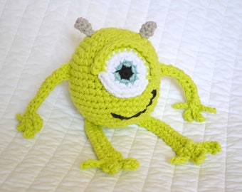 Crochet Mike Wazowski Pattern