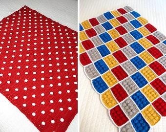 2 Crochet Blanket Patterns