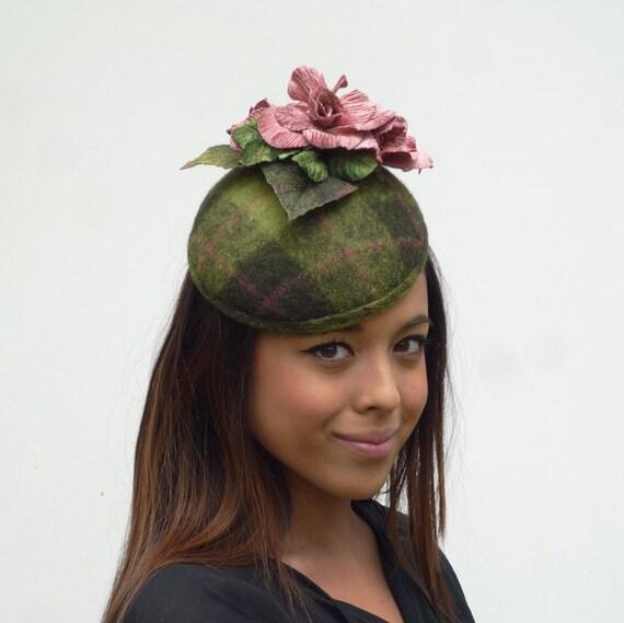 a418914580c09 Dutch design completely handmade and handblocked mini hat